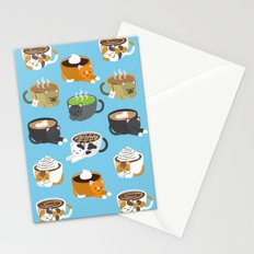 Cat Coffee Stationery Cards