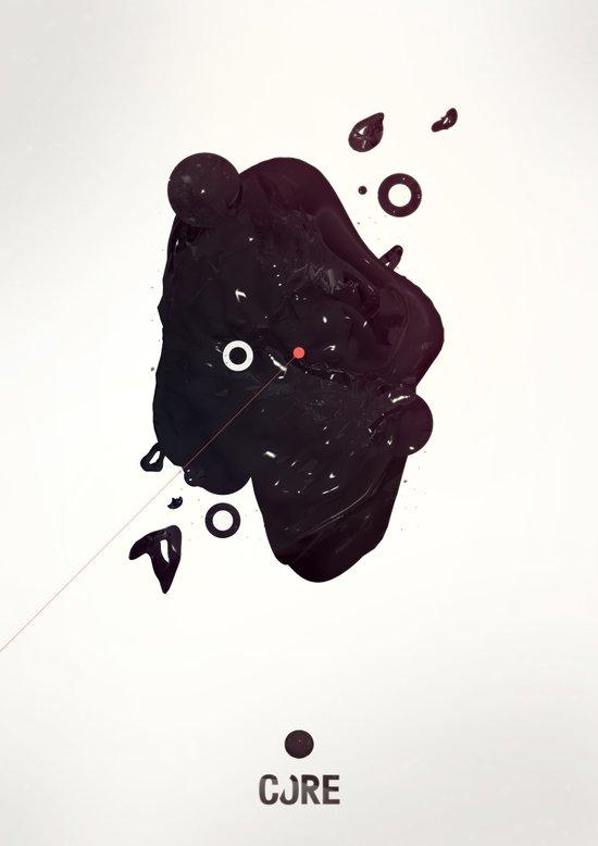 CORE Black 3 Art Print