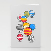 The Lost Marbles Stationery Cards