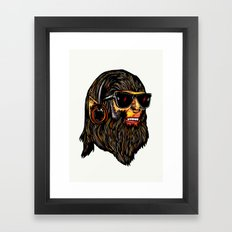 Teen Wolf Framed Art Print