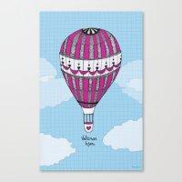 Hot Air Balloon, Spanish Canvas Print