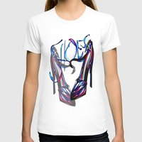 shoes T-shirts featuring Shoes by Digital-Art