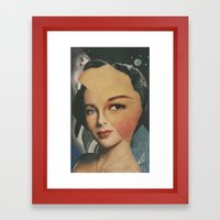 Celestial Body Framed Art Print