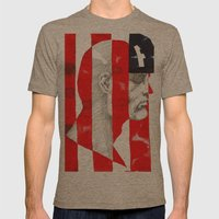 Oh, Captain. My Captain. Mens Fitted Tee Tri-Coffee SMALL