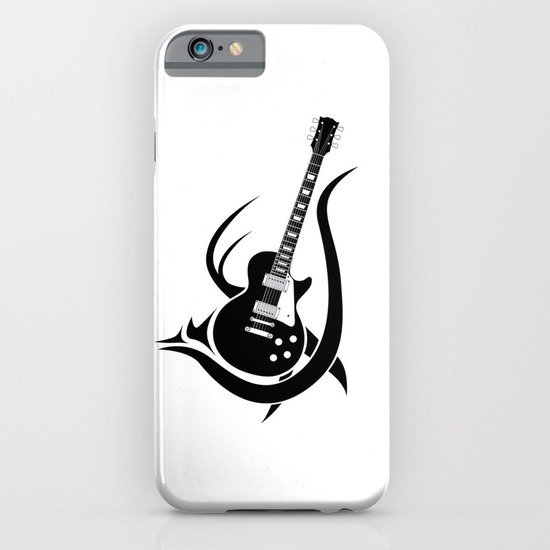 Tribal Guitar iPhone & iPod Case