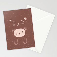WILD + BEAR print Stationery Cards