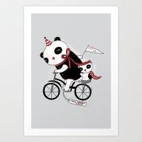 Sad Circus Art Print
