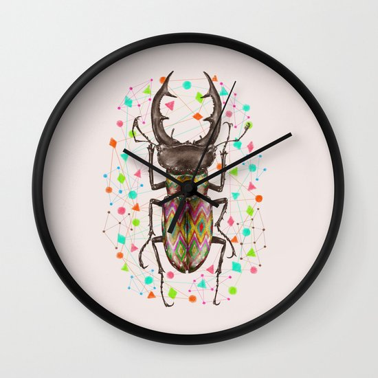 INSECT IV Wall Clock