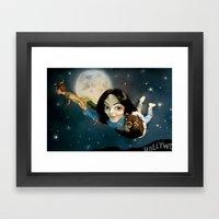 King Of Neverland Framed Art Print