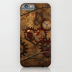 Steampunk, noble design Slim Case iPhone 6s