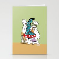 The Caterpillar Stationery Cards