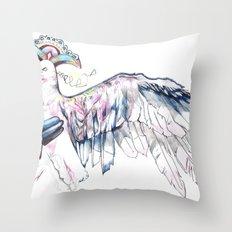 Like soaring through the heavens  Throw Pillow