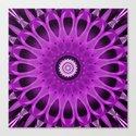 Mandala pink and purple Canvas Print
