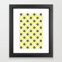 Yellow Flower Framed Art Print