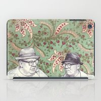 Old Men iPad Case