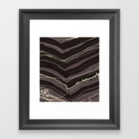 Burnout At Chevron Framed Art Print