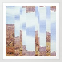 Rural Skies Art Print