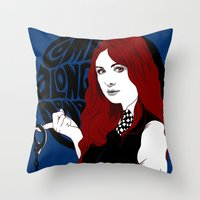 Come Along Pond Throw Pillow