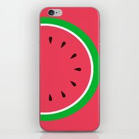 Red Watermelon - Summer time iPhone & iPod Skin