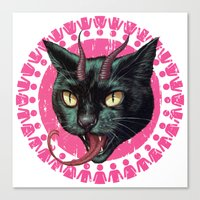 Krampuss Canvas Print