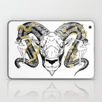 Face Of Two Laptop & iPad Skin