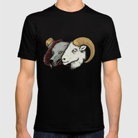 Sheep Skin Mens Fitted Tee Black SMALL