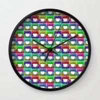 Caffeine High Wall Clock
