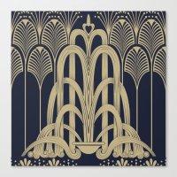 Gatsby Glamour Canvas Print