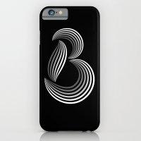 iPhone & iPod Case featuring b like b by Robert Karpati