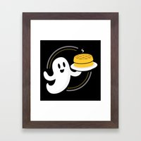 Ghost Waffles (Podcast) Framed Art Print