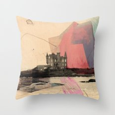 Castle's In The Air Throw Pillow