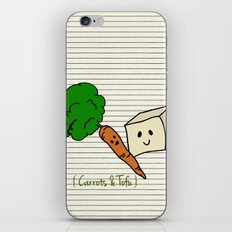 {Carrots & Tofu} iPhone & iPod Skin