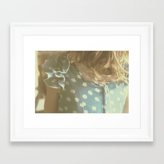 Carlotta's Youth Framed Art Print