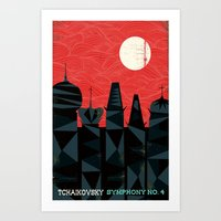Tchaikovsky - Symphony No. 4 Art Print