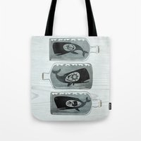 Whale In A Bottle | Trip… Tote Bag