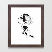 Maen ar sklerijenn - Emilie Record Framed Art Print