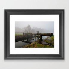 Ulverston Canal Framed Art Print