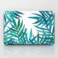 Watercolor Palm Leaves O… iPad Case