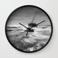 Stormy Seascape Wall Clock