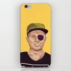 The Israeli Hipster leaders - Moshe Dayan iPhone & iPod Skin