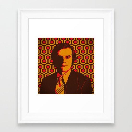 T. S. Framed Art Print