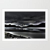 Turnagain Arm (Alaska) Art Print