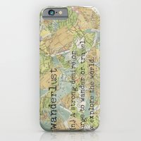 iPhone & iPod Case featuring Wanderlust by Jenna Settle
