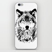 Wolf Eyes iPhone & iPod Skin