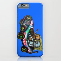 iPhone & iPod Case featuring A trip by car by Rudolf Brancovsky