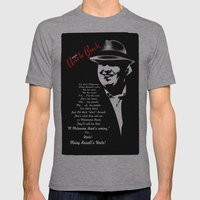 Im Your Uncle Buck Mens Fitted Tee Athletic Grey SMALL