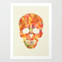 Fun Skull Art Print