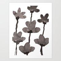 Autumn Flowers 2 Art Print