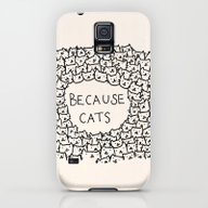 Because Cats Galaxy S5 Slim Case