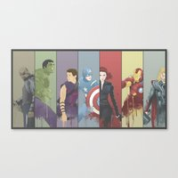 Team Awesome Canvas Print